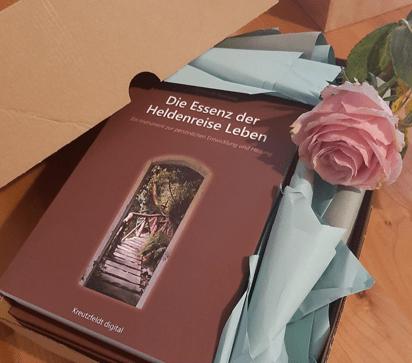 Buchtitel Die Essenz der Heldenreise Leben von Carina El-Nomany