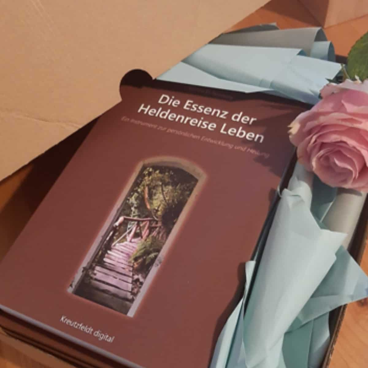 Buch Titel Die Essenz der Heldenreise Leben von Carina El-Nomany